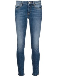 Vivienne Westwood Anglomania Stone Washed Skinny Jeans Blue