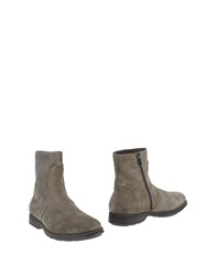 Brecos Ankle Boots Light Grey