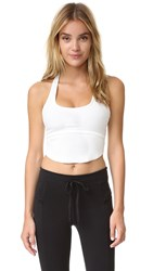 Free People Movement Indigo Crop Tank White