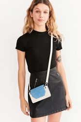 Urban Outfitters Cher Ring Mini Crossbody Bag Blue