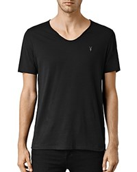 Allsaints Tonic Scoop Tee Jet Black