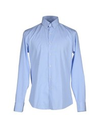 Paul And Shark Shirts Shirts Men Azure