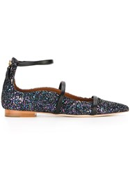 Malone Souliers 'Robyn' Ballerinas Blue