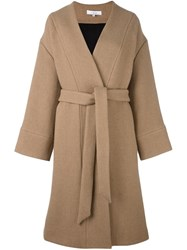 Iro 'Raina' Coat Nude And Neutrals