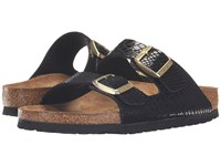 Birkenstock Arizona Shiny Snake Black Women's Sandals