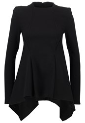 Plein Sud Jeanius Long Sleeved Top Black