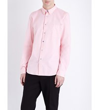 Paul Smith Ps By Tailored Fit Cotton Oxford Shirt Pink