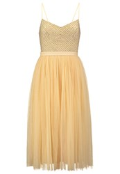 Needle And Thread Coppelia Cocktail Dress Party Dress Dust Yellow