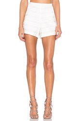 Endless Rose Marielle Woven Short Ivory