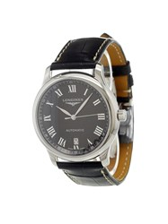 Longines 'Master Collection' Analog Watch Black