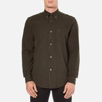 Our Legacy Men's 1950'S Oxford Shirt Olive Green