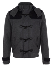 Teddy Smith Brytony Classic Coat Anthracite Chine Mottled Anthracite