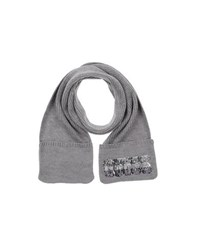 Guess Accessories Oblong Scarves Women Grey