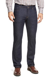 Peter Millar 'The Jean' Mid Rise Jeans Indigo