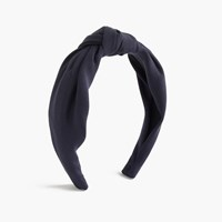 J.Crew Top Knot Headband Navy