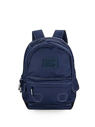 Superdry True Montana Contrast Stitched Backpack French Navy