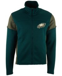 G3 Sports Men's Philadelphia Eagles Draw Play Jacket Teal Charcoal