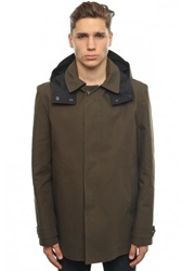 Kenzo Trench Army Green