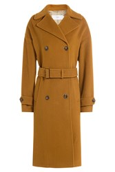 Closed Virgin Wool Coat With Cashmere Camel