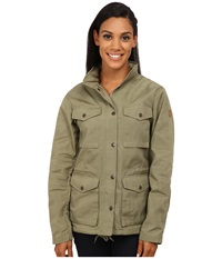 Fj Llr Ven Raven Jacket Green Women's Coat