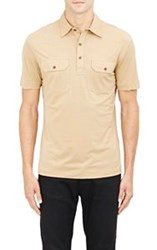 Ralph Lauren Black Label Jersey Polo Shirt Nude