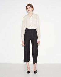 Isabel Marant Stella Cotton Costard Trousers Black