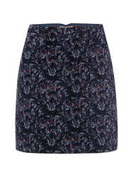 White Stuff Suqi Floral Skirt Navy