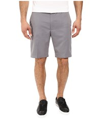 Perry Ellis Performance Shorts Gray Cloud Men's Shorts