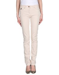 Cappopera Denim Pants Beige