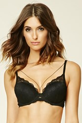 Forever 21 Scalloped Lace Bra