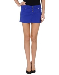 Cycle Mini Skirts Blue