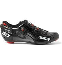 Sidi Wire Carbon Vernice Microfibra Techpro Cycling Shoes Black