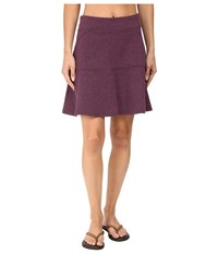Prana Gianna Skirt Wine Women's Skirt Burgundy