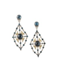 London Blue Topaz Chandelier Earrings Konstantino