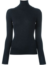 Vanessa Bruno Turtle Neck Sweater Blue