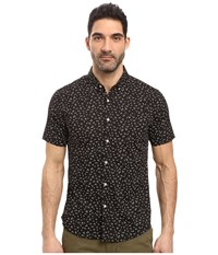 7 Diamonds Editions Of You Short Sleeve Shirt Black Men's Short Sleeve Button Up