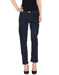 Atelier Fixdesign Trousers Casual Trousers Women Dark Blue