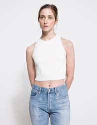 Which We Want Ashton Knit Top Off White