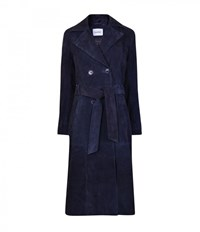 Gestuz Suede Laney Trench Coat