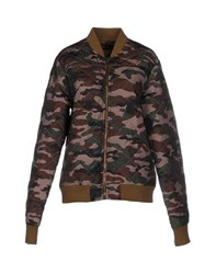 Red Soul Coats And Jackets Jackets Women Military Green