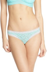 Women's Kensie 'Mattie' Lace Thong Aruba Blue