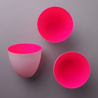 Porcelain Tea Light Holder Neon Pink Candles And Candleholders Accessories Shop