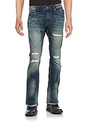 Cult Of Individuality Washed Five Pocket Jeans River Wash