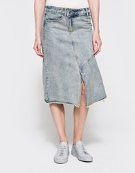 Cheap Monday Hiro Skirt Jet Blue