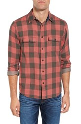 Faherty Men's Belmar Trim Fit Check Sport Shirt