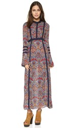 Raga Long Sleeve Maxi Dress Multi