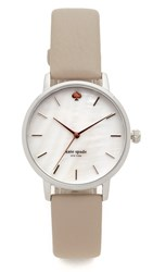 Kate Spade Classic Metro Watch Silver Grey