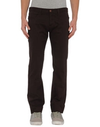 Frankie Morello Casual Pants Dark Brown