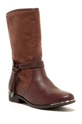 Godiva Lauren Short Riding Boot Brown
