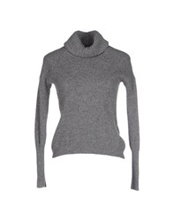 Private Lives Knitwear Turtlenecks Women Grey